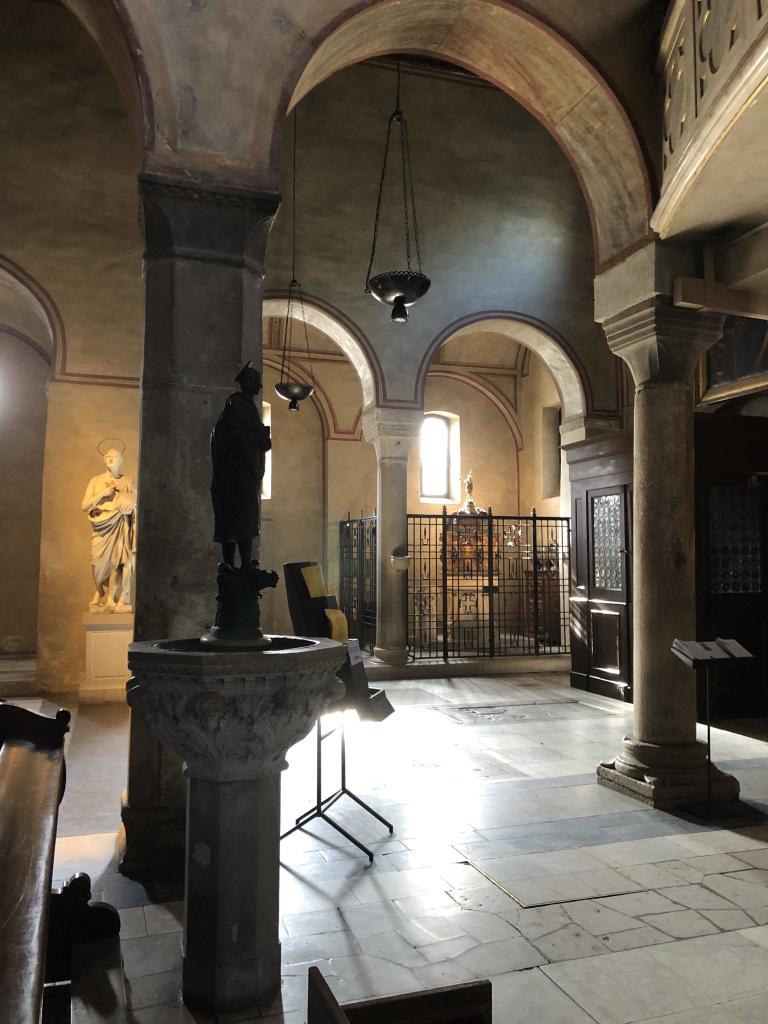Inside Cattedrale di San Giusto Martire [today], Trieste, Italy