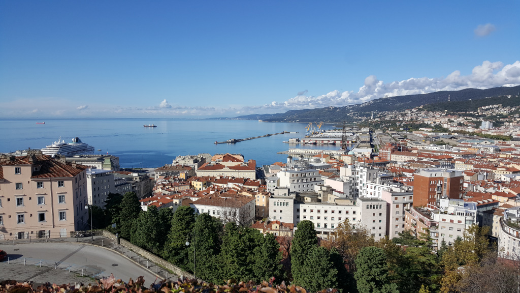 Trieste from Above [today], Trieste, Italy