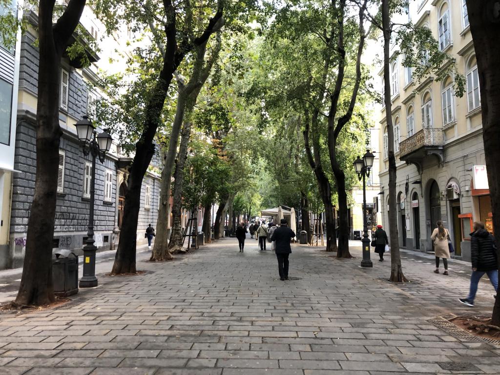 Viale XX Settembre [today], Trieste, Italy