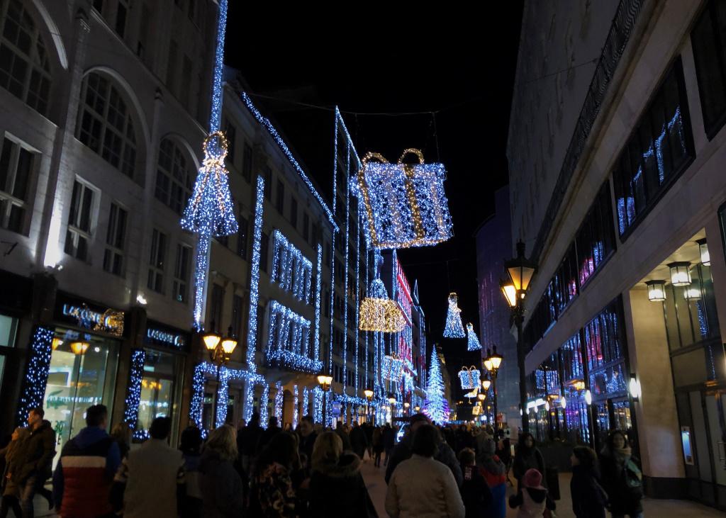 Christmas Lights, Budapest, Hungary