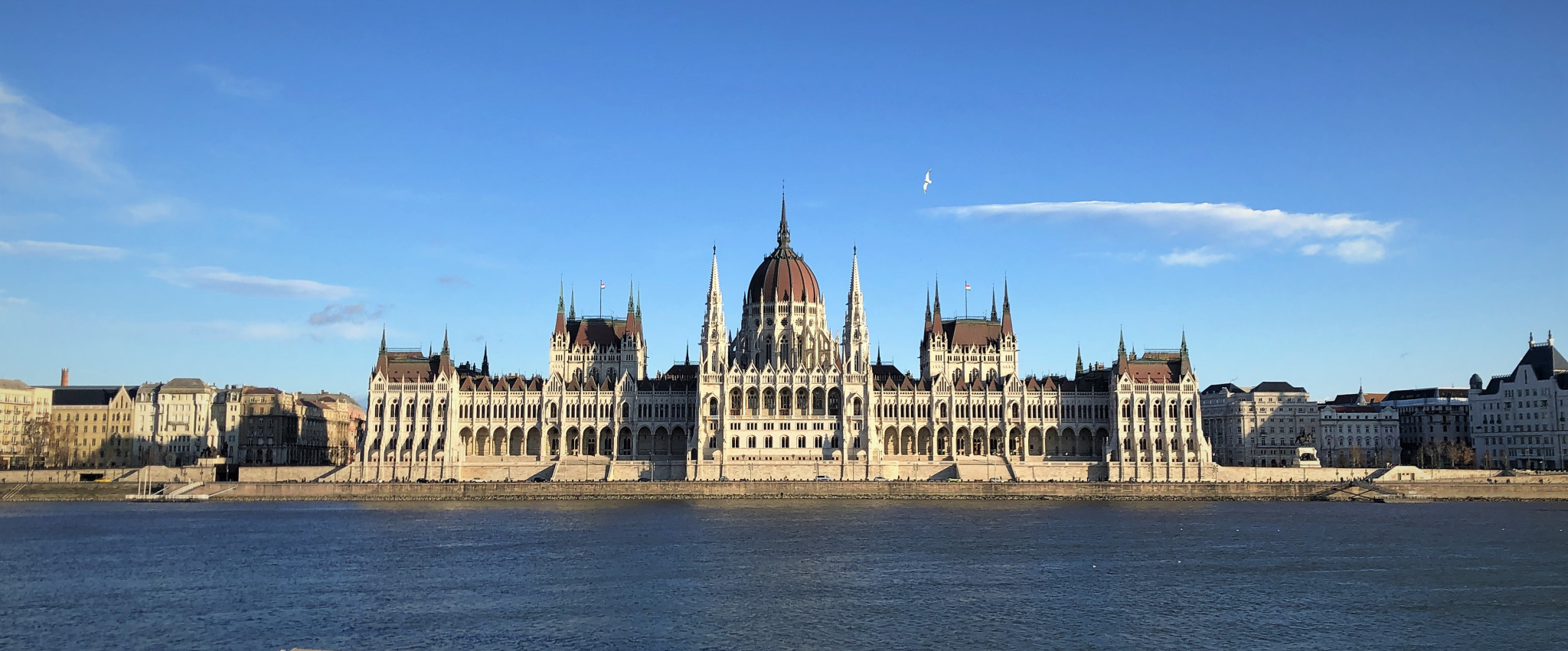 Parliament from Across the Danube, Budapest, Hungary