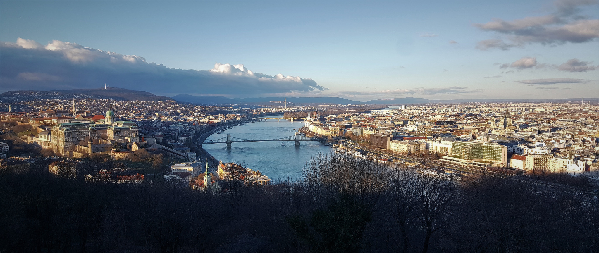 View from Buda Hill, Budapest, Hungary