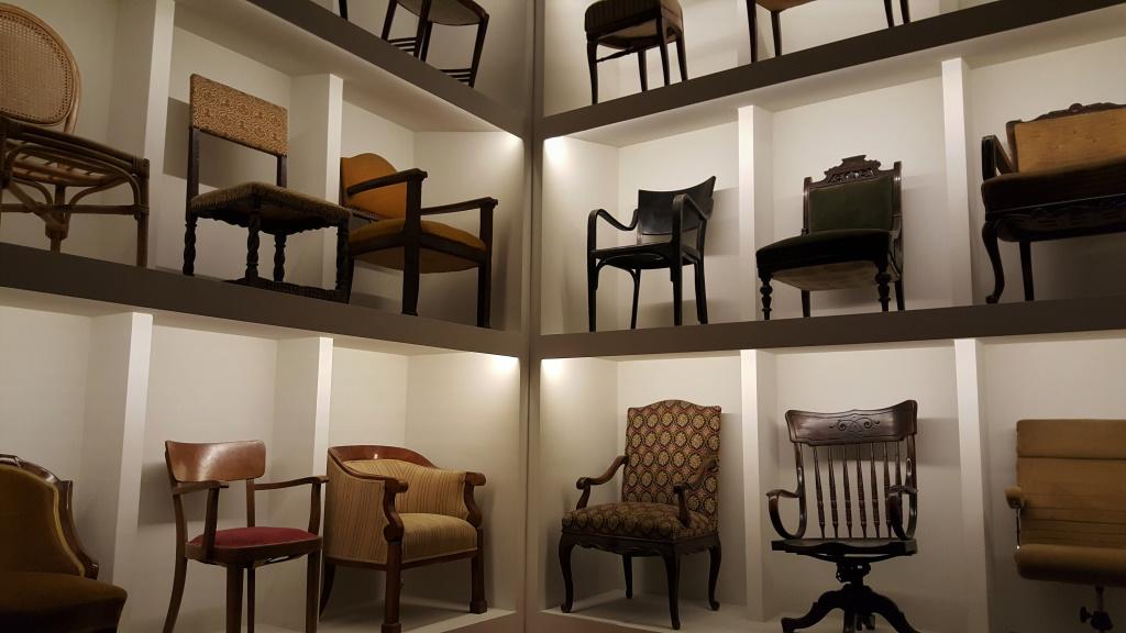 Writer's Chairs, Budapest, Hungary