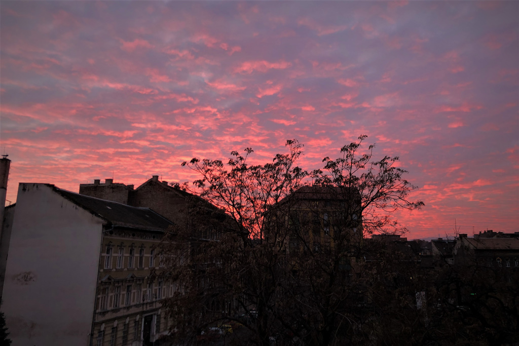 Last Sunset of 2019, Budapest, Hungary
