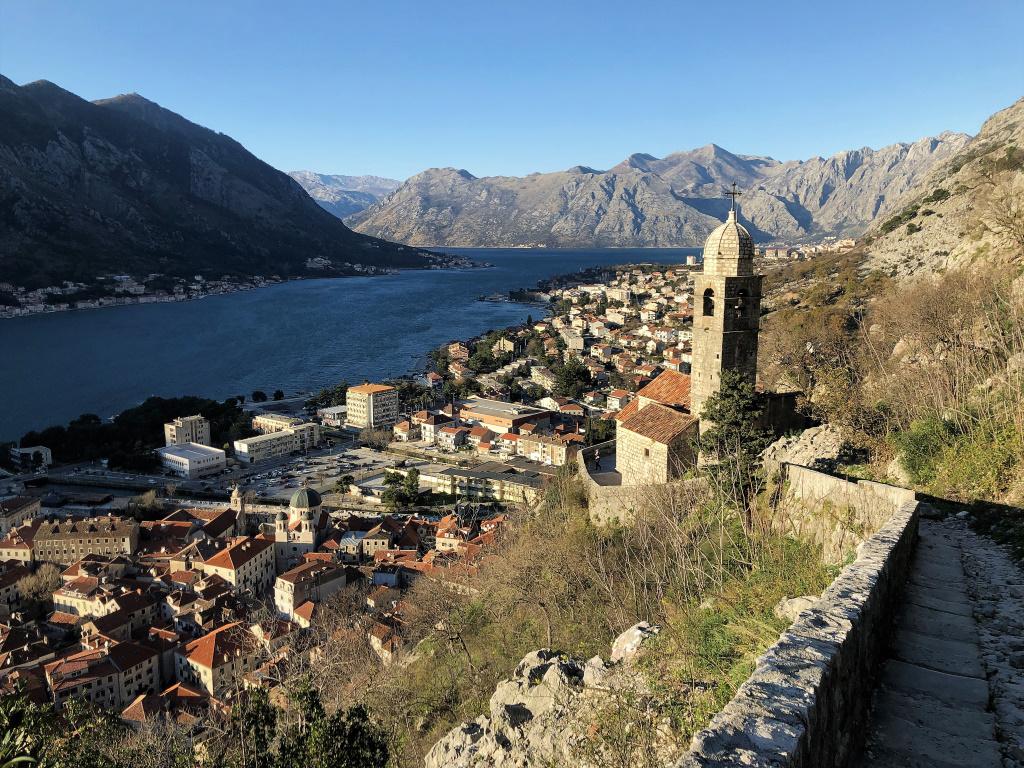 Looking over Kotor, Montenegro