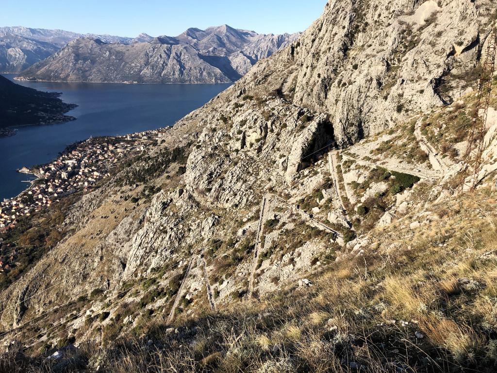 Ladder of Kotor, Kotor, Montenegro