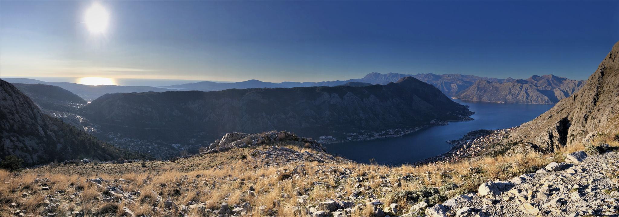 Far above the Bay, Kotor, Montenegro