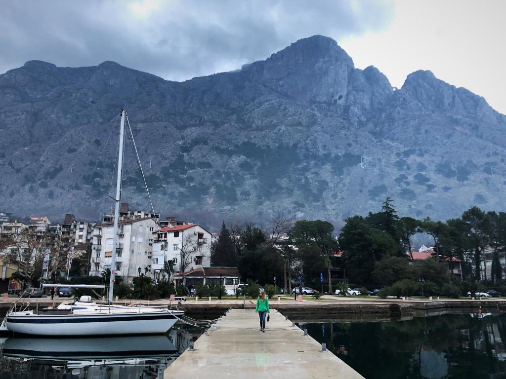 Exploring the Waterfront, Kotor, Montenegro