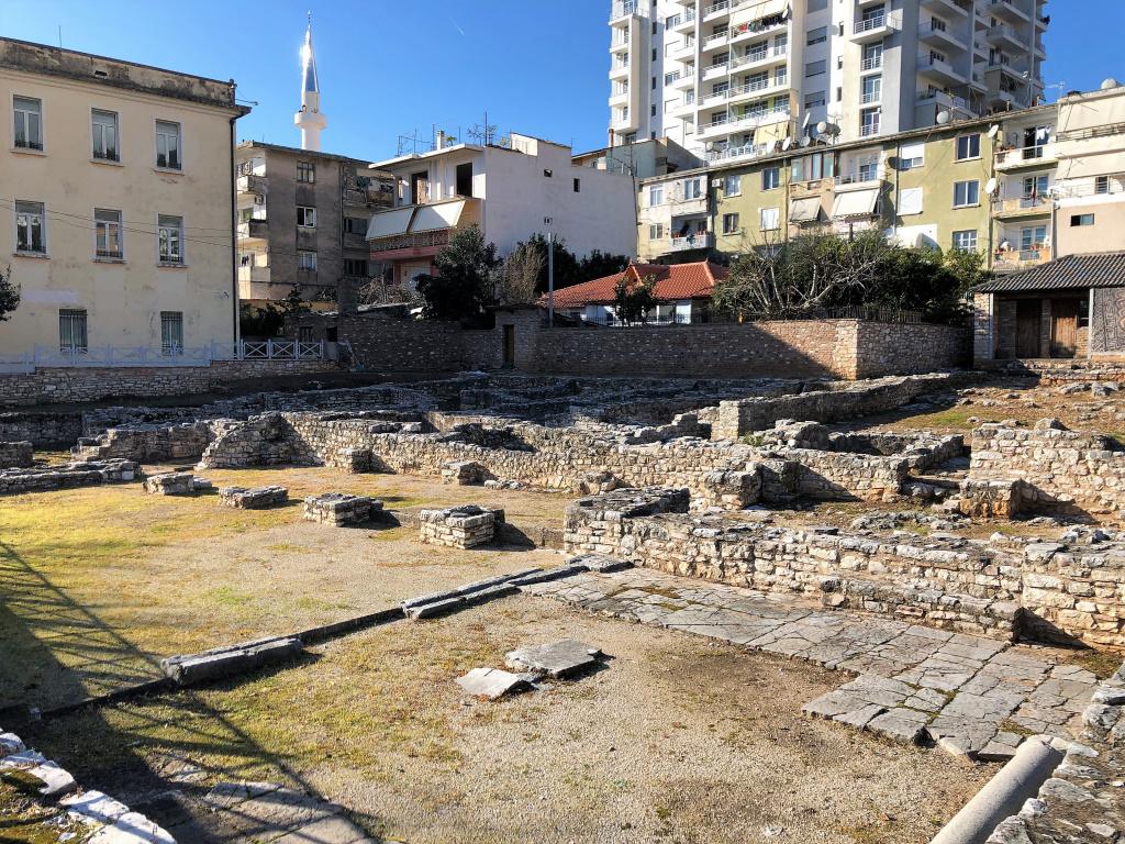 Synagogue Ruins, Saranda, Albania