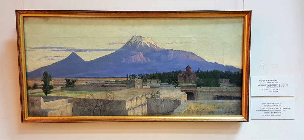 Painting of Ararat, Yerevan, Armenia