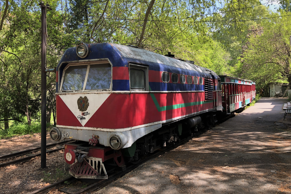 Children's Railway, Yerevan, Armenia