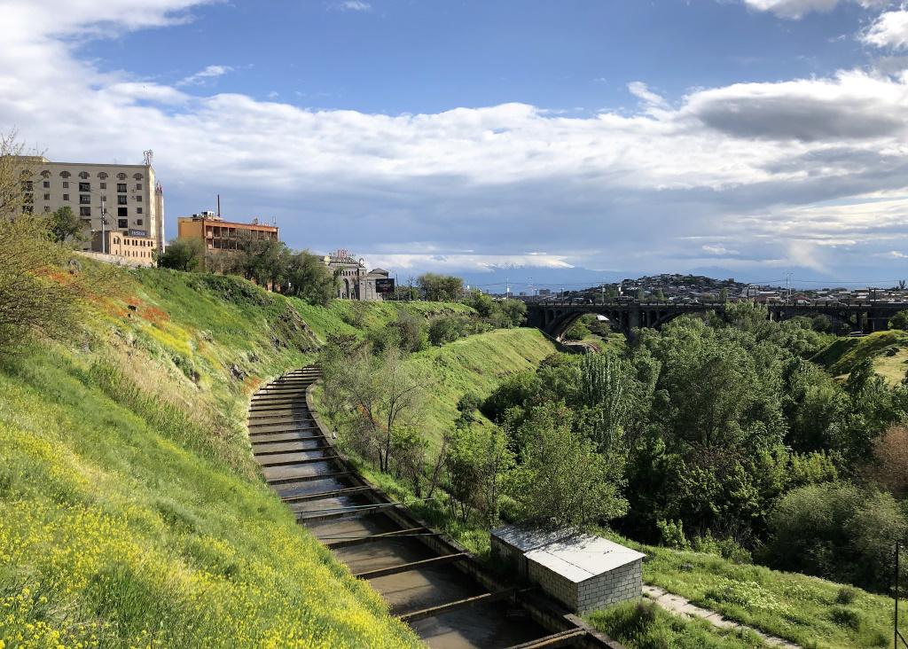 Hrazdan Gorge, Yerevan, Armenia