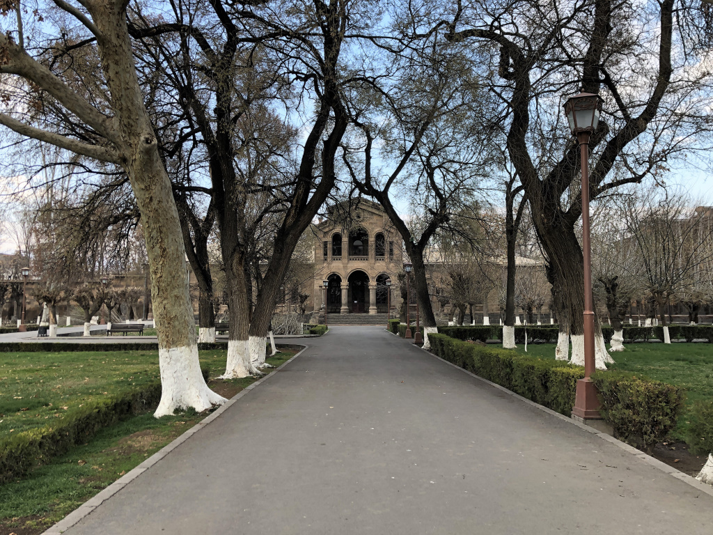 Grounds of the Cathedral, Ejmiatsin, Armenia