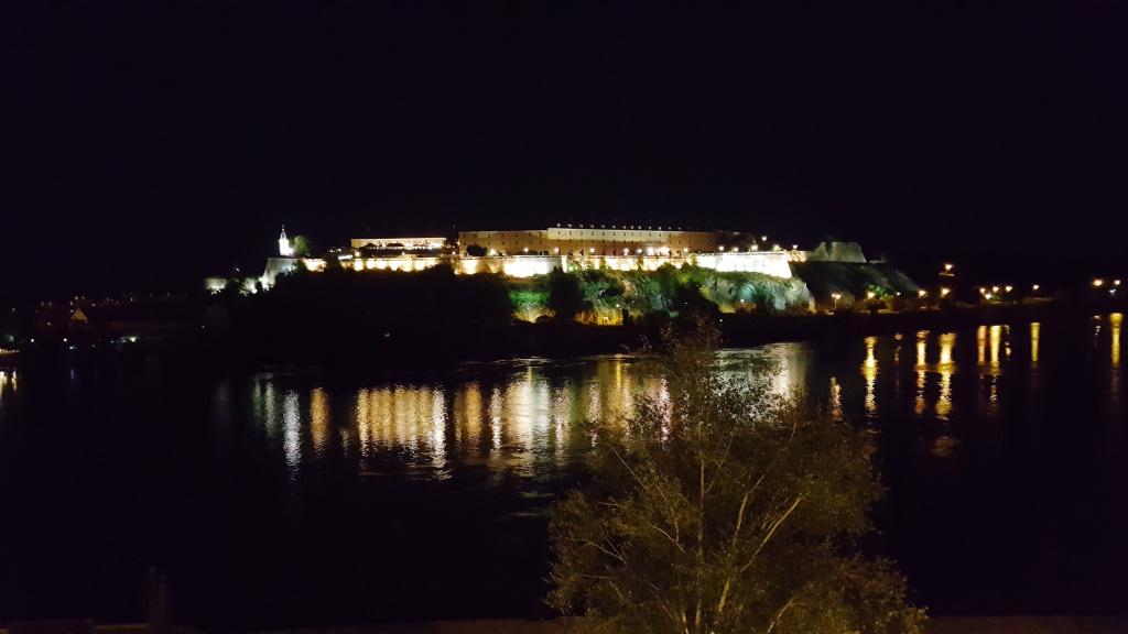 Petrovaradin at Night, Novi Sad, Serbia