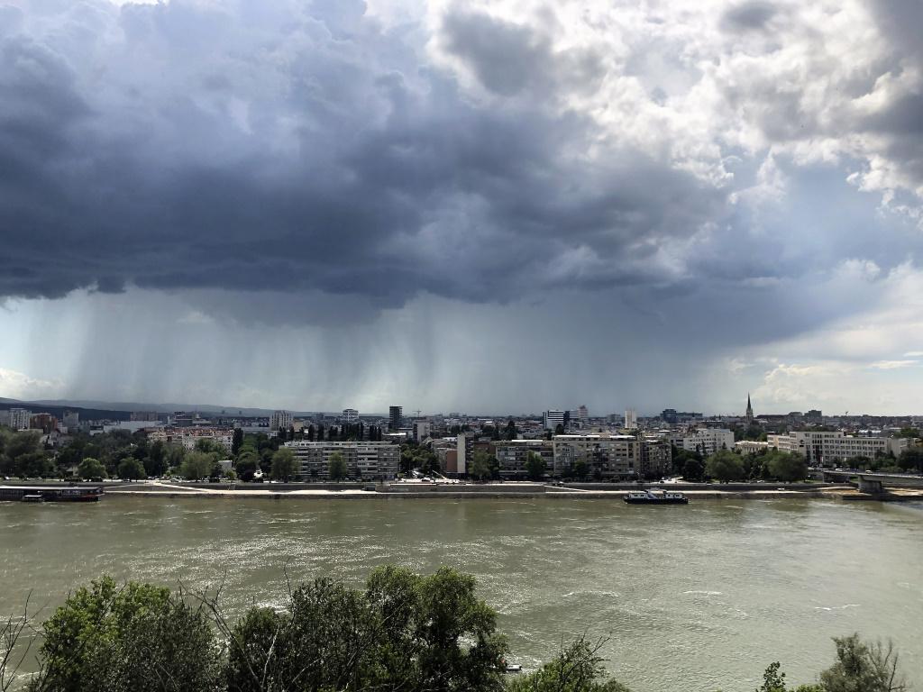 Rain Showers, Novi Sad, Serbia